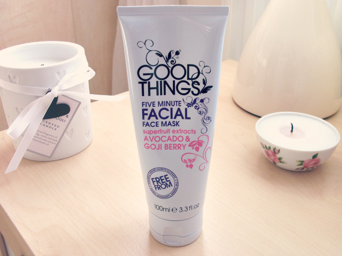 Good Things 5 Minute Facial Face Mask