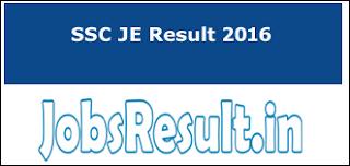 SSC JE Result