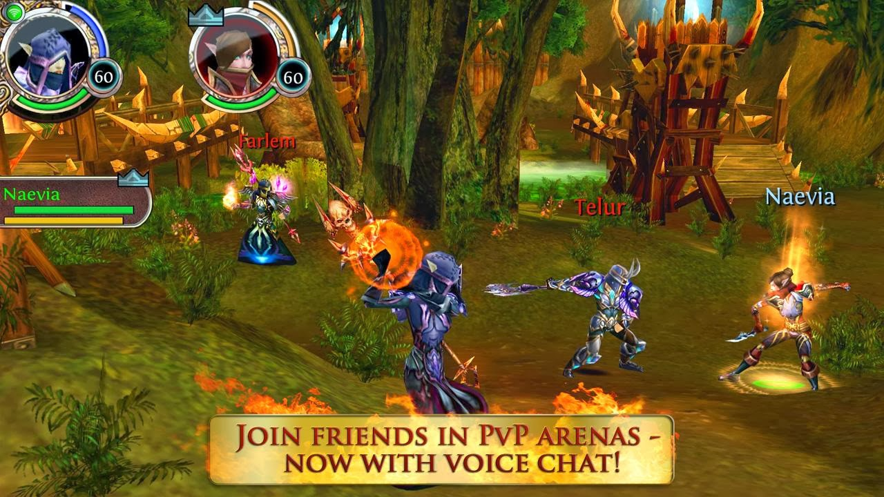 Android FAQs: Android Order & Chaos Online MMO Gameloft Games