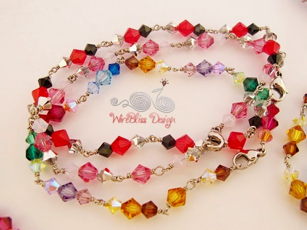 Swarovski Crystal Bracelet by WireBliss