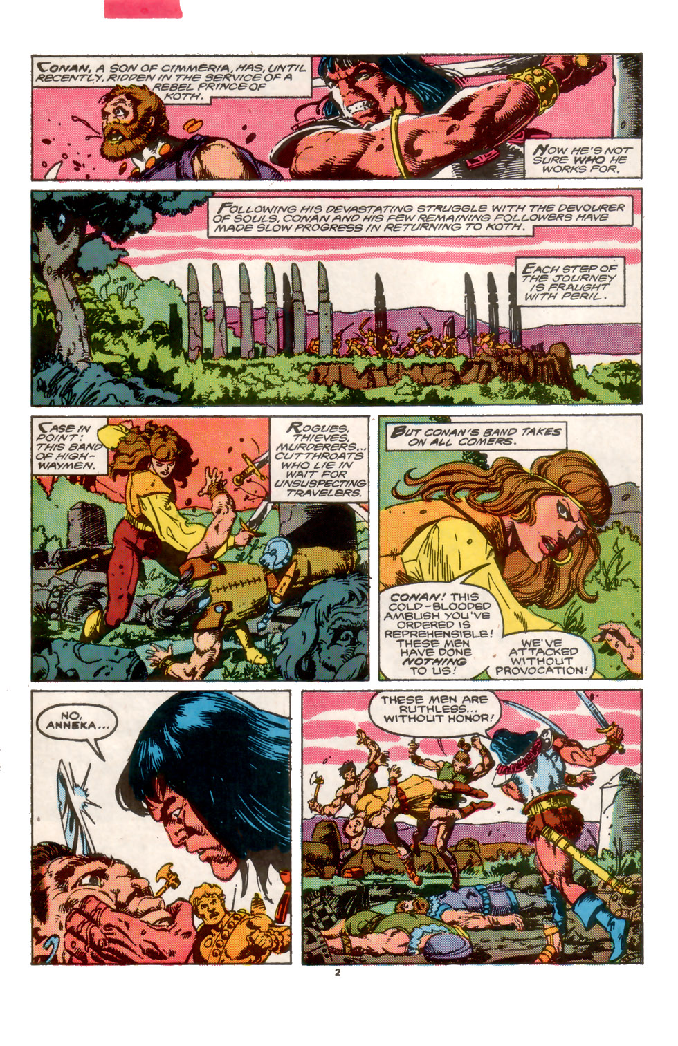 Conan the Barbarian (1970) Issue #202 #214 - English 3