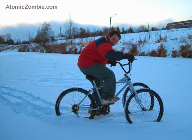 hammerhead winter trike
