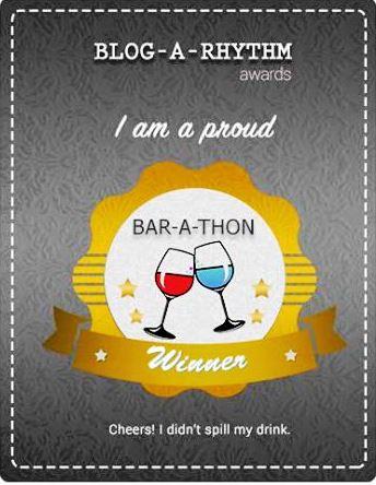 I am a proud BAR-A-THON winner
