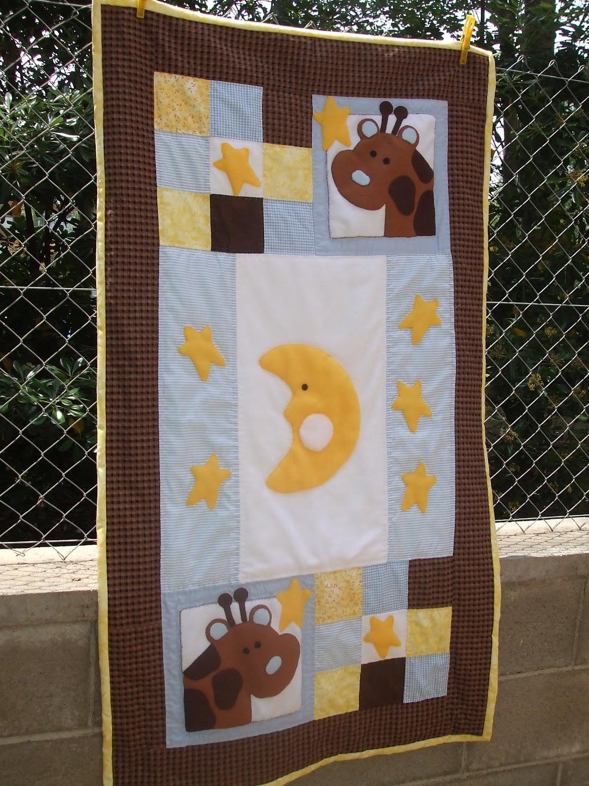 Trocitos de vida colcha patchwork infantil baby child - Patrones para colchas de patchwork ...