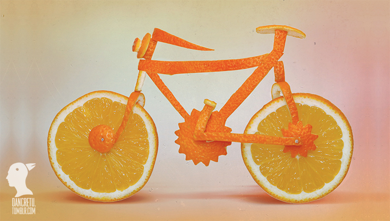 12-Bicycle-Dan-Cretu-Human-Anatomy-with-Food-Art-Sculptures-www-designstack-co
