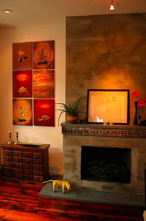 Chimeneas decorativas en monterrey airea condicionado for Chimeneas decorativas
