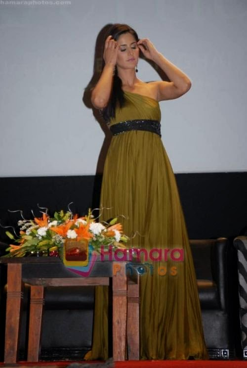 Katrina  Kaif at Yuvvraaj press meet in Whistling Woods hq