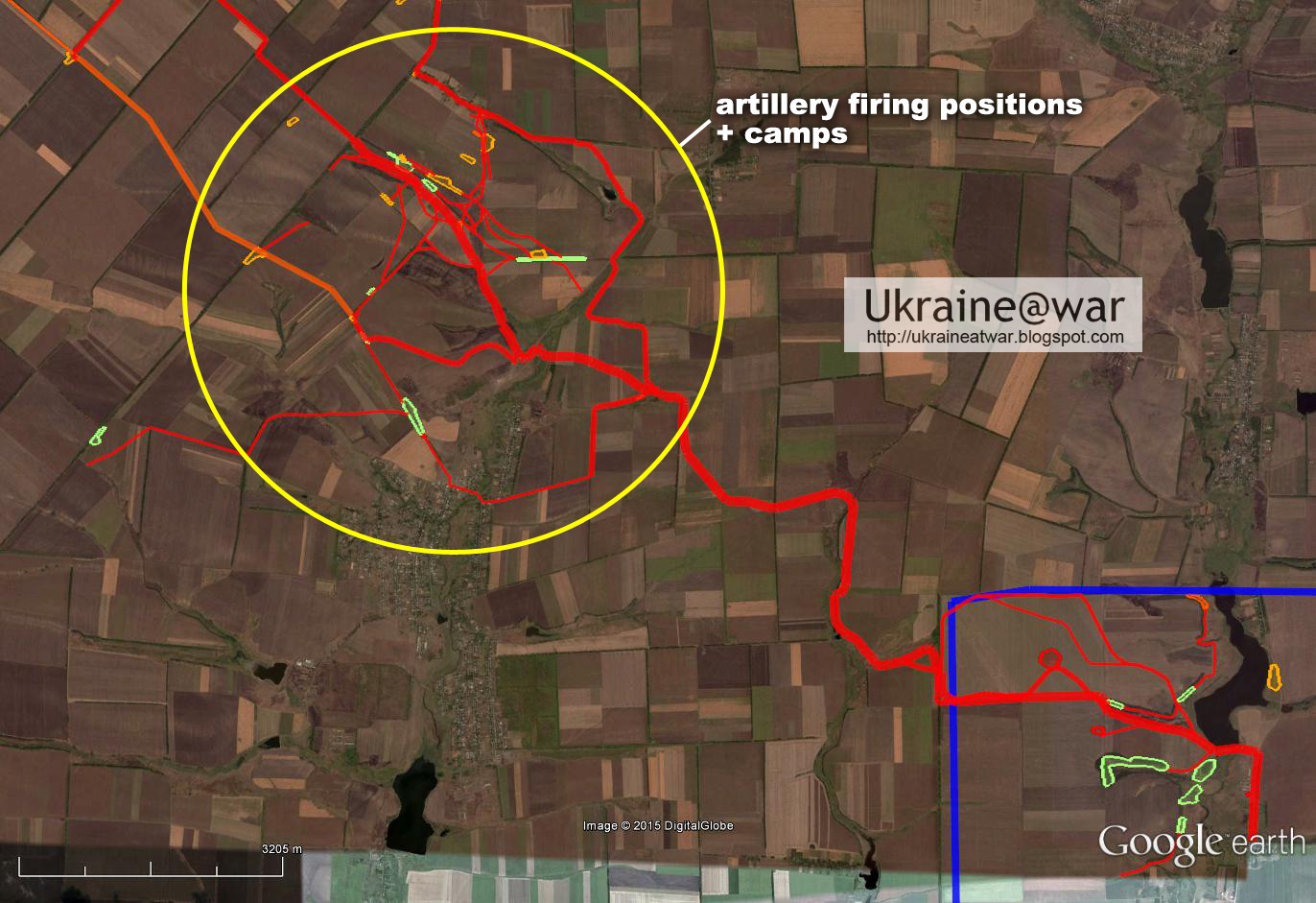 Google Earth shows how Russians crossed border to create Ilovaisk massacre