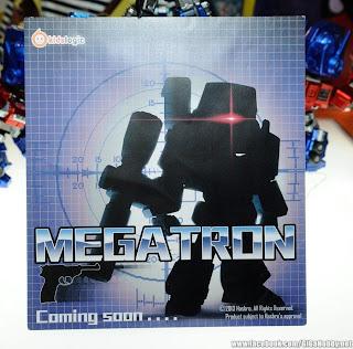 """Kidslogic Transformers 6"""" Megatron Figure Teaser"""