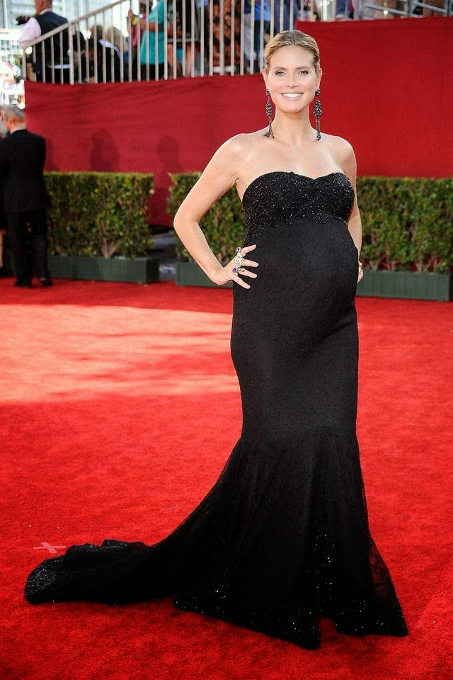 Pregnant Heidi Klum During Pregnancy