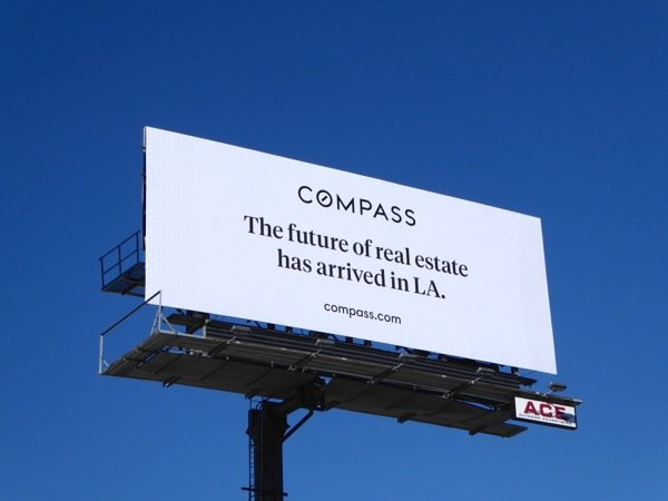 Compass future of real estate billboard