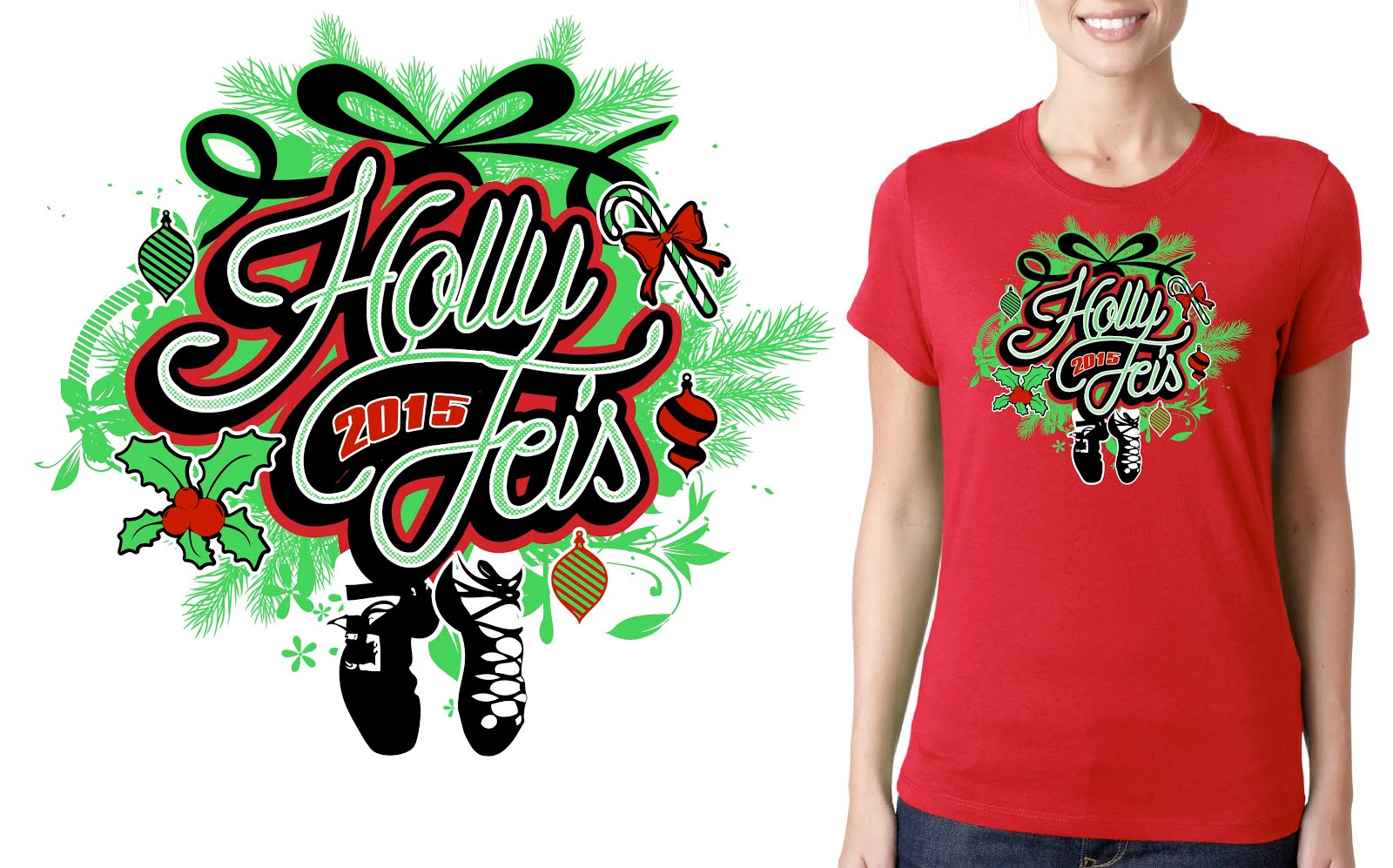 Beautiful Vector logo design for Feis event for Tshirt