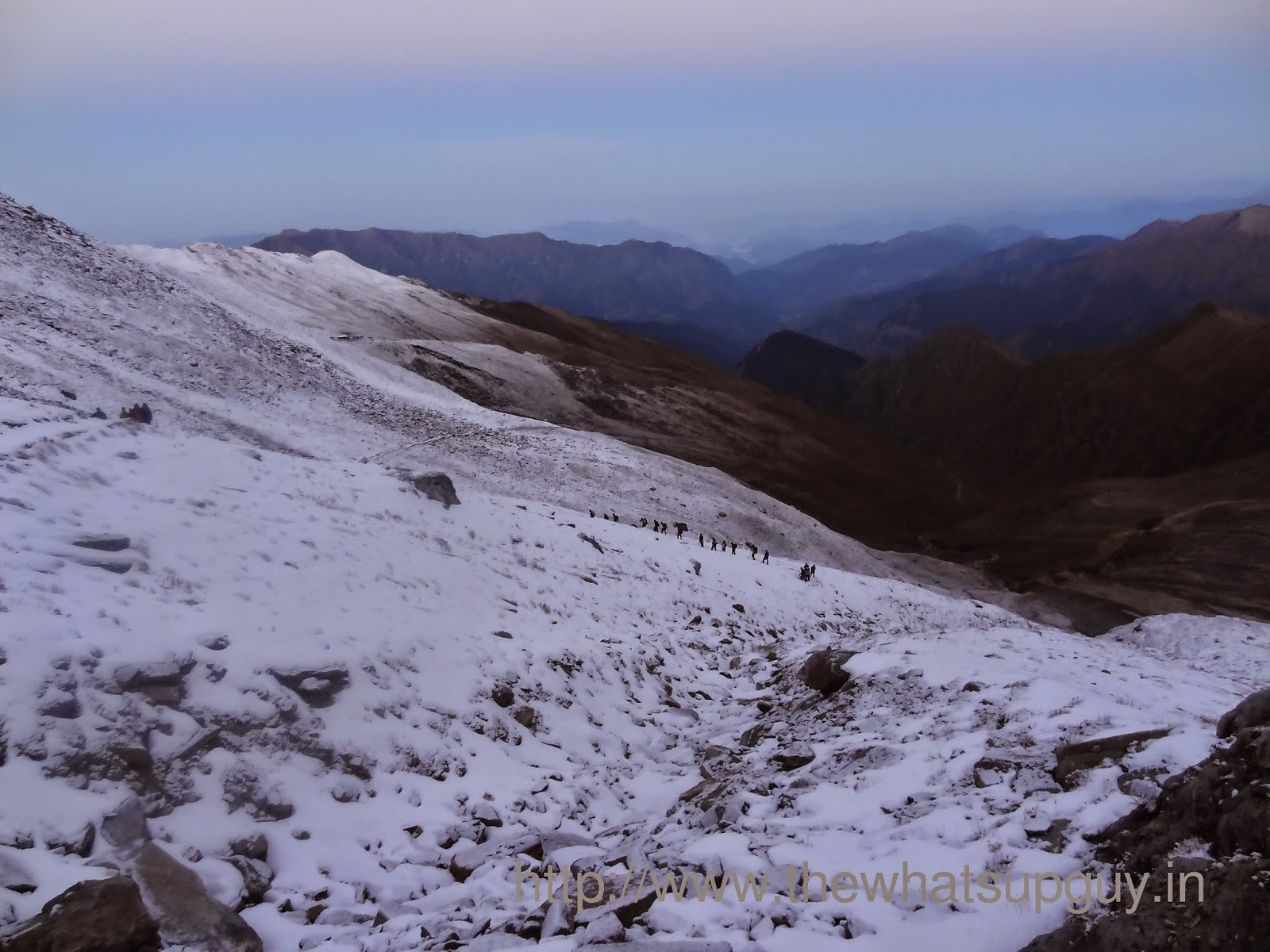 Trekking In Snow Roopkund Trek With India Hikes Day 5