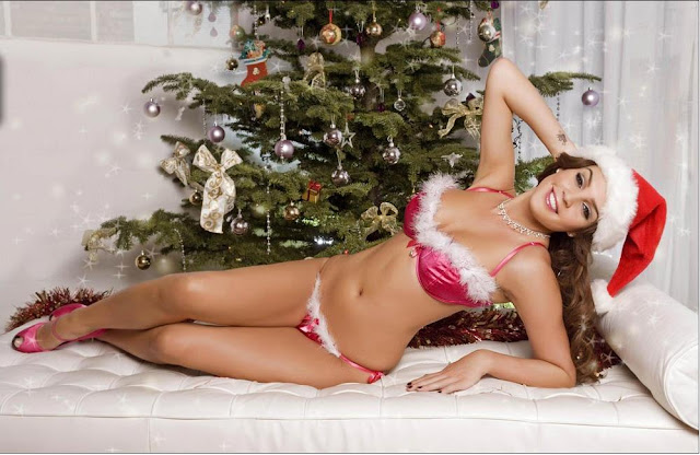 Cute Hot and Beautiful Santa Claus