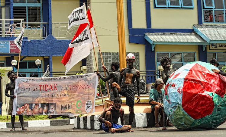 SAY NO TO MINING IN NORTH MOLUCAS