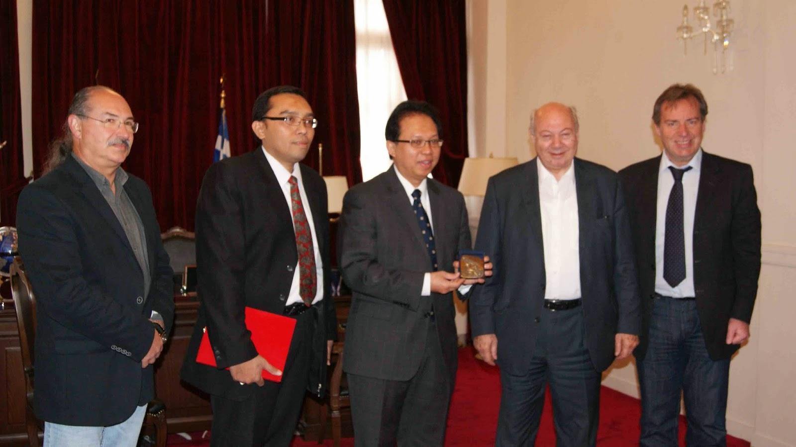 Συνεργασία Δήμου Κεφαλονιάς με Ινδονησία