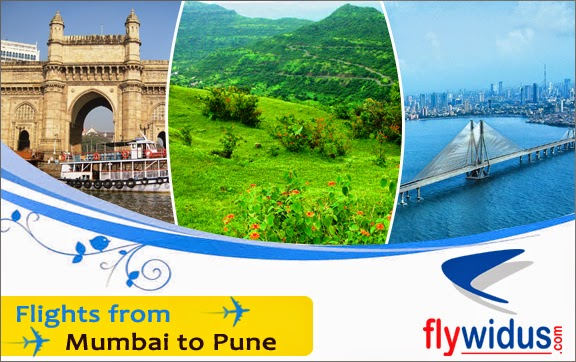 Low airfare from Mumbai to Pune