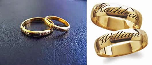 All About Beauty Design wedding rings are beautiful contemporary trends