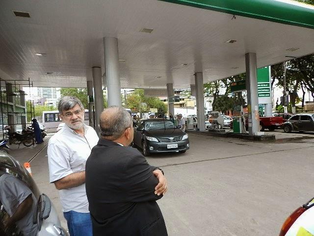 Mensagem de Jorge Hage Diretor presidente do Posto Jardim do Ô.