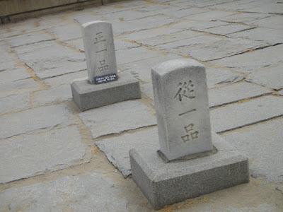 Stone Statue at Deoksugung Palace Seoul South Korea