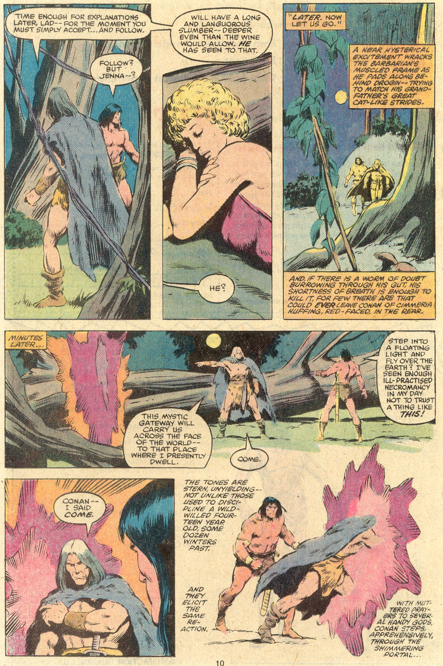 Conan the Barbarian (1970) Issue #119 #131 - English 8