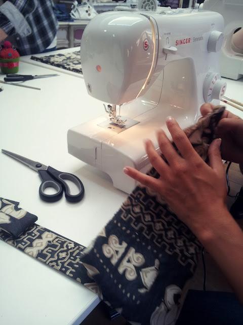 workshop iniciação a costura, atelier verde musgo