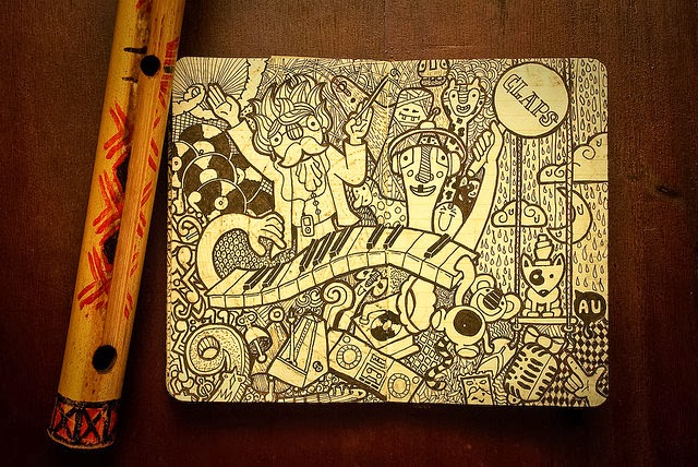 12-Maykel-Nunes-Graphic-Designer-Illustrator-Moleskiner-Sketchbook-Doodles-www-designstack-co
