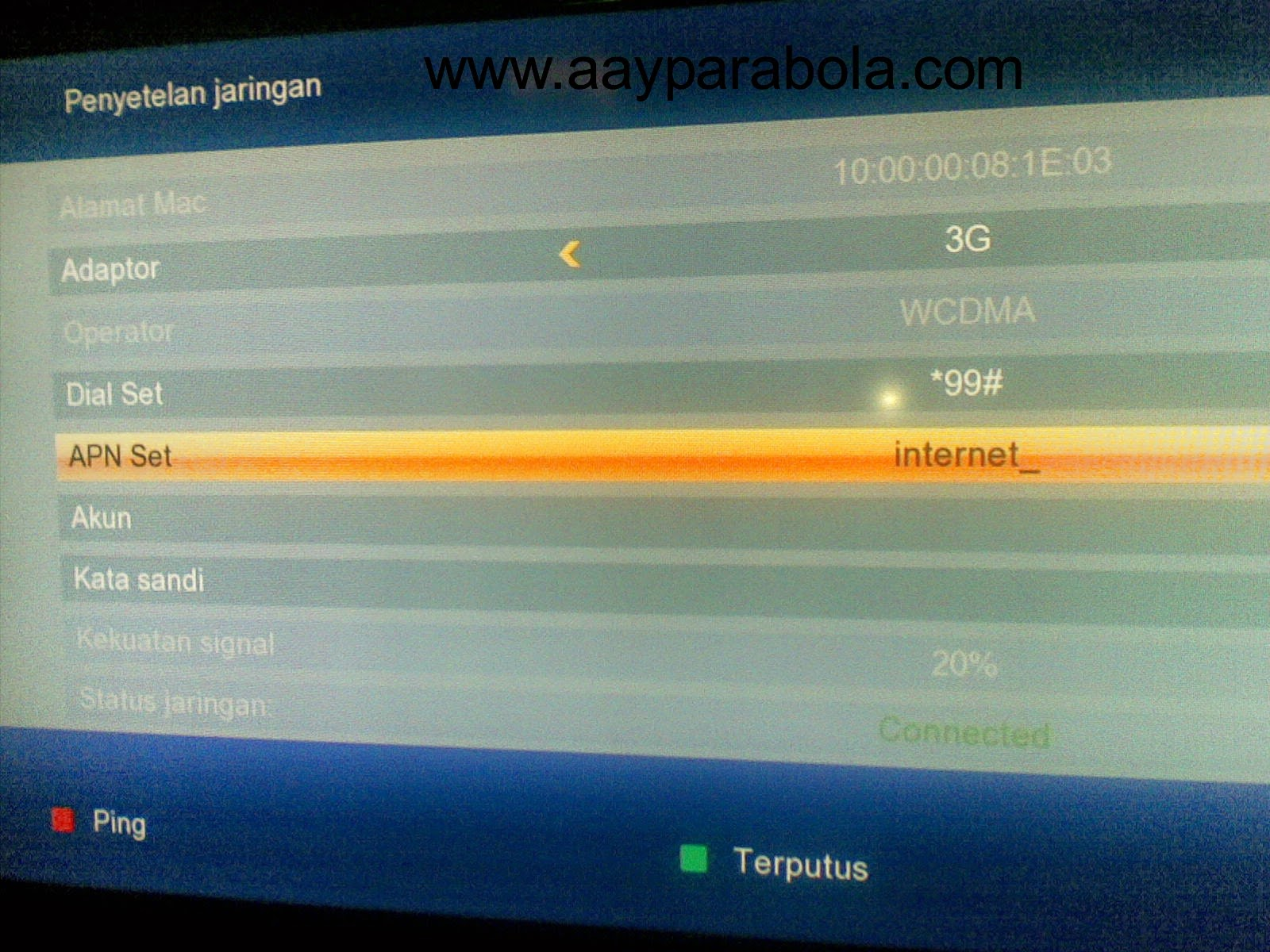 Aay Parabola Receiver Matrix Sinema Hd Pvr Mpeg 4 Free Channel Premium Selamanya Lifetime Support Power Vu Tadberg Bisskey Ccamd Youtuber Koneksi Dengan Mdem Di Jaringan 3g Gprs