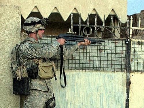 Steven Dale Green saat di Irak, 2005 (foto Wikipedia)