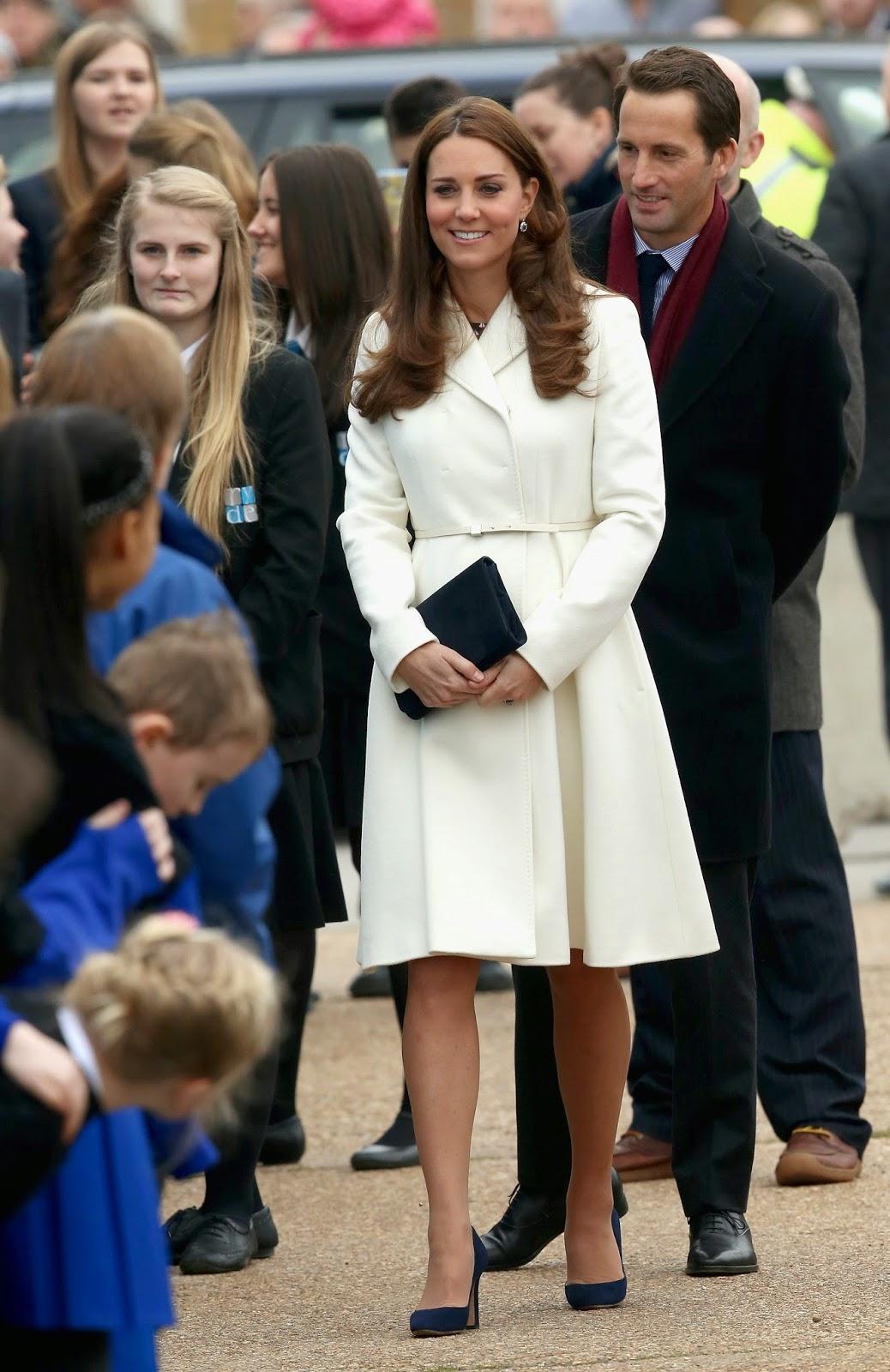 d2b1115697e frumpy to funky  Kate Middleton Duchess of Cambridge wears Max Mara ...