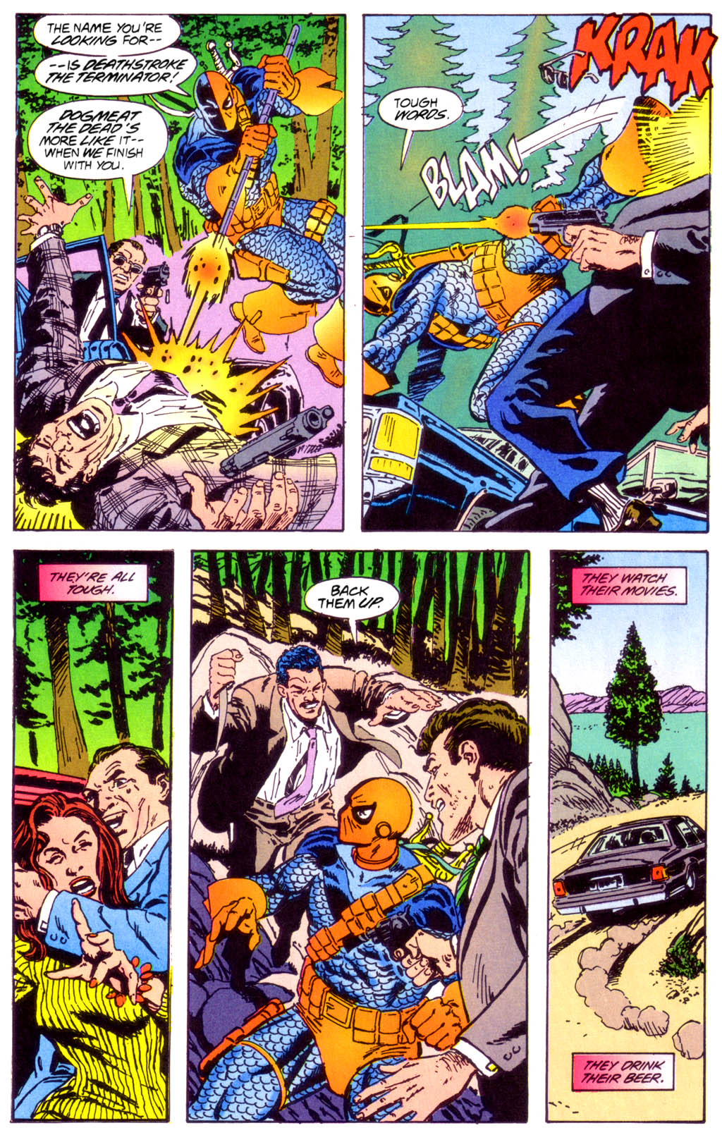 Deathstroke (1991) Issue #40 #45 - English 4