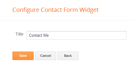 How to Add Contact Form to Blogger