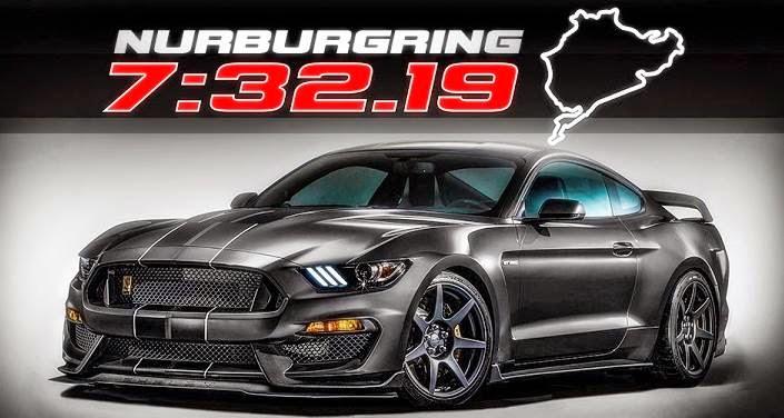 Mustang GT350r Nurburgring