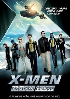 X Men.Primeira.Classe X Men: Primeira Classe Dublado BDRip AVI e RMVB