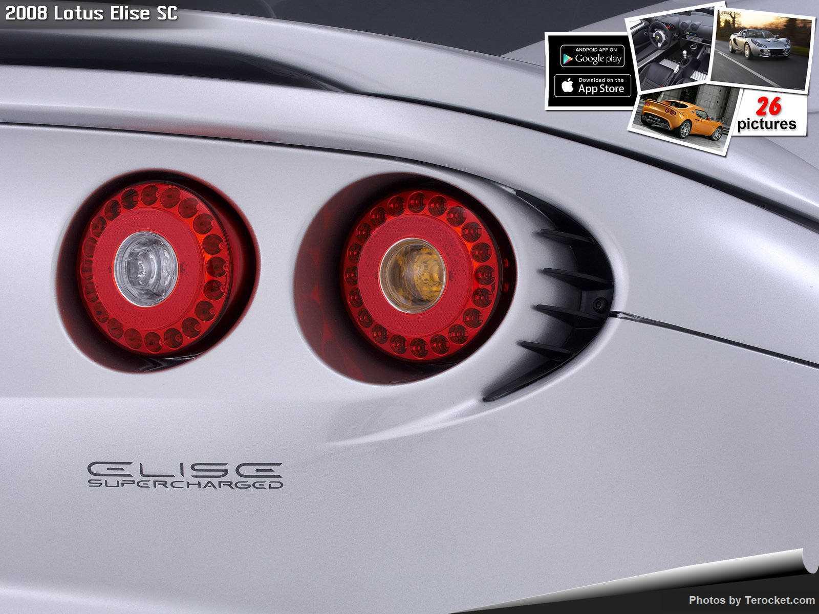 Hình ảnh siêu xe Lotus Elise SC 2008 & nội ngoại thất