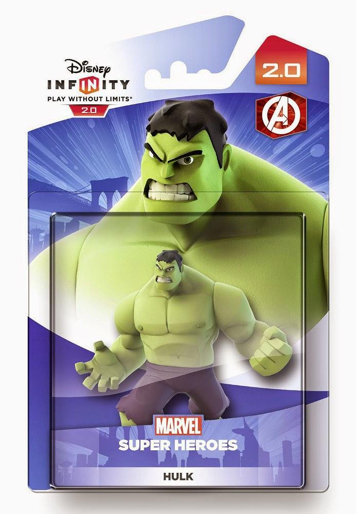 TOYS : JUGUETES - DISNEY Infinity 2.0  Figura Hulk | Muñeco | Marvel Super Heroes  Producto Oficial | Videojuegos | A partir de 7 años  PlayStation 4, Nintendo Wii U, PlayStation 3, Xbox 360, Xbox One  Disney - 17 octubre 2014