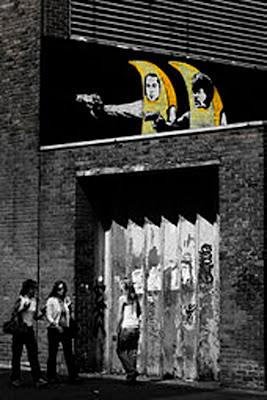 Graffiti, Stencil Graffiti