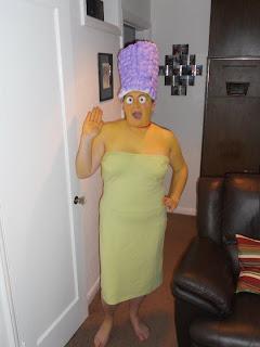 Marge Simpson Halloween