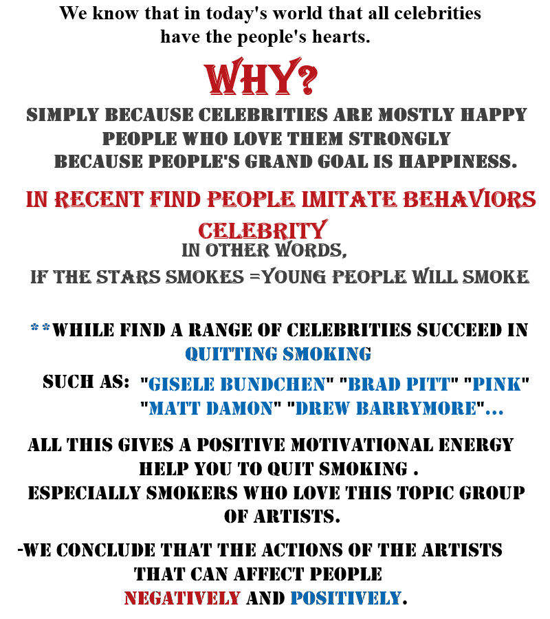 celebrities make good role models essay Or no celebrity role models on the world scene (since celebrities' lives ( especially the scandalous aspects) are splashed across the.