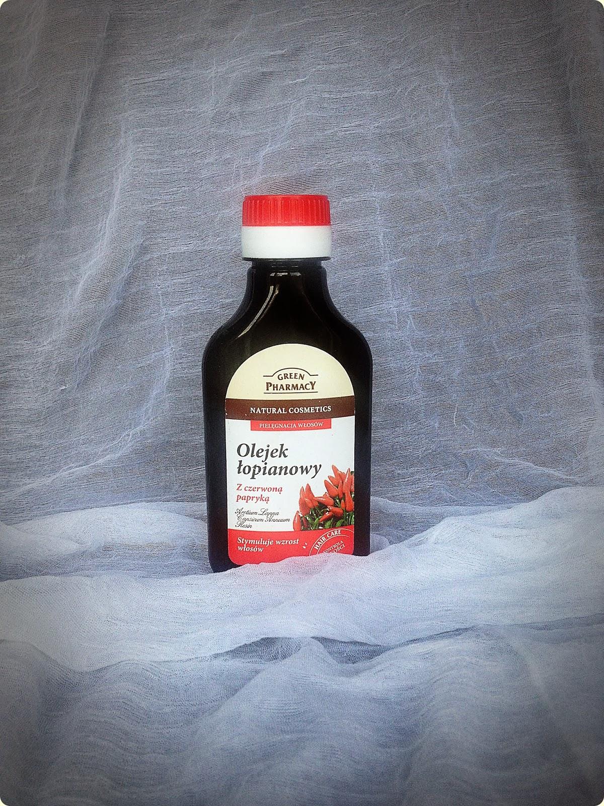 Olejek lopainowy z czerwona papryka