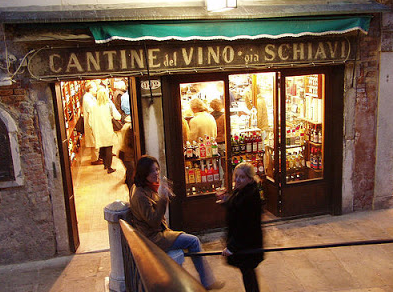 The WINE BARS of VENICE
