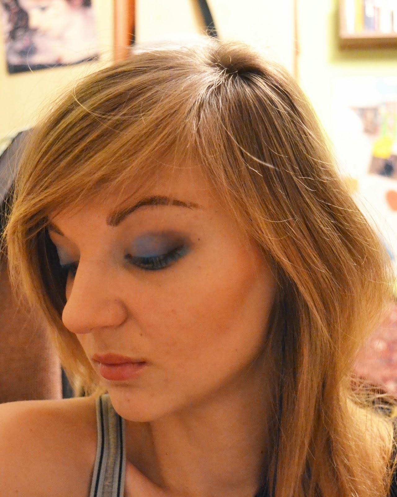 Tydzień VI wyzwania makijażowego + recenzja Czarnego Mydła