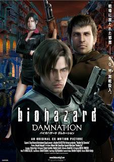 Resident Evil: La maldición (Resident Evil: Infierno)(biohazard DAMNATION (Resident Evil: Damnation))