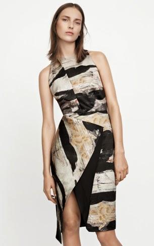H&M Conscious Exclusive vestido cóctel