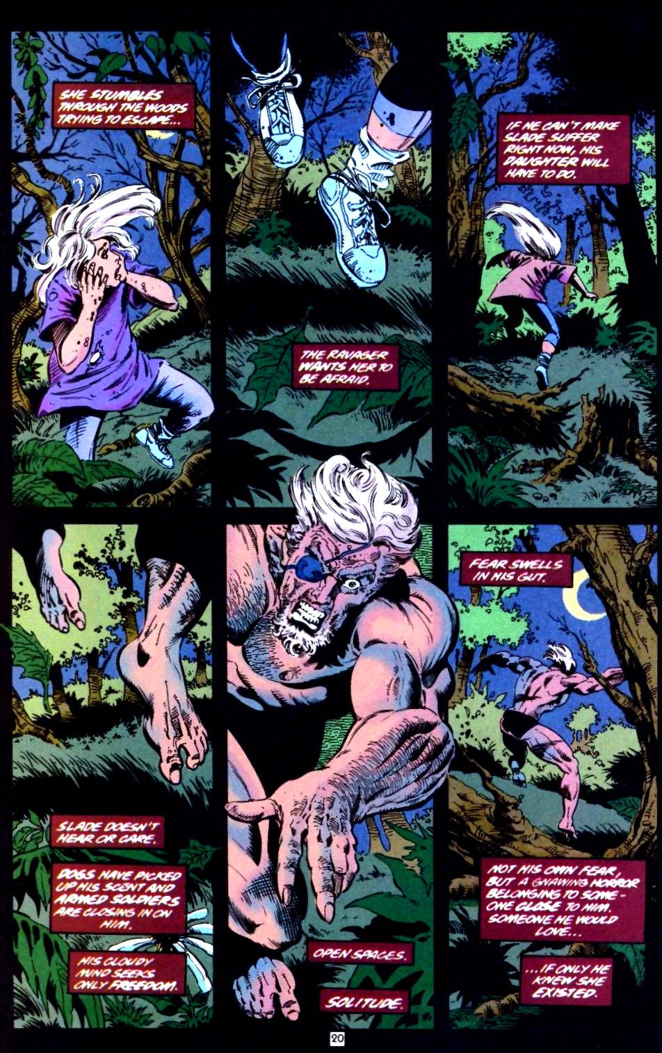 Deathstroke (1991) Issue #44 #49 - English 21
