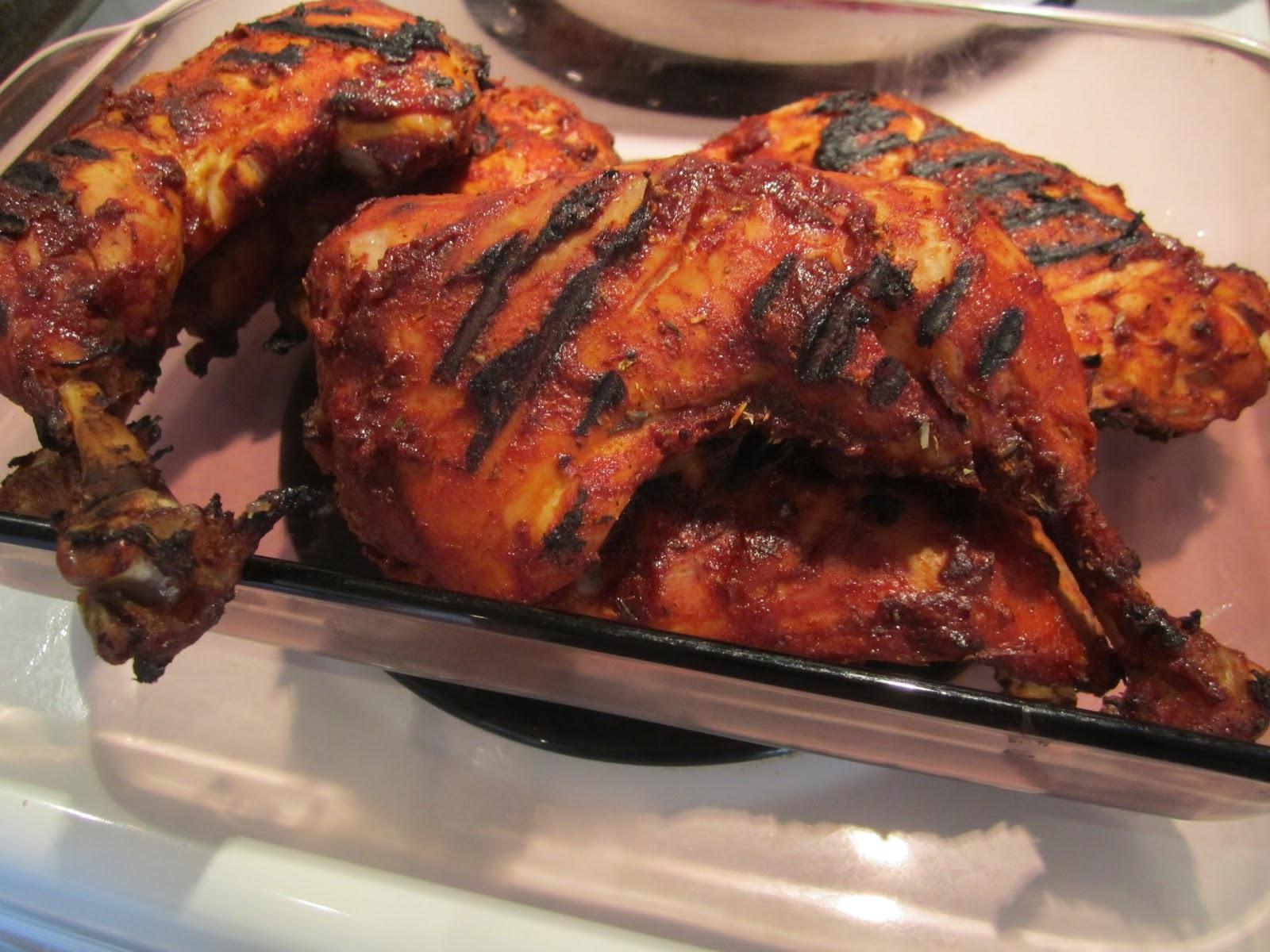 Cuisine de tartine cuisses de poulet bbq la bi re rousse - Poulet grille au barbecue ...