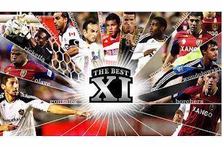 El equipo ideal del Fútbol de Estados Unidos 2011