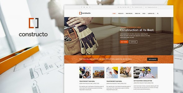 Constructo - WP Construction Business Theme Free