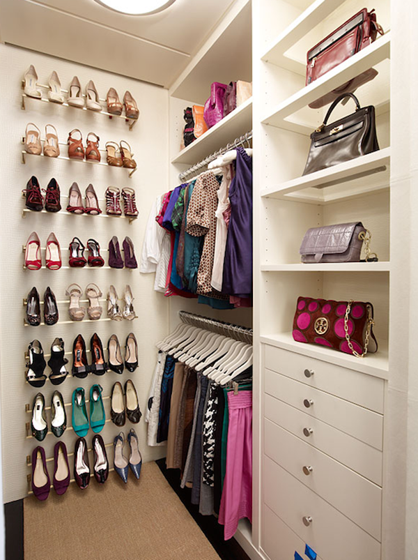 Shoes Can Often Be One Of The Greatest Causes Of Closet Clutter. If You  Donu0027t Want A Vertical Wall Rack For Your Shoes Like The One Above, You Can  Display ...