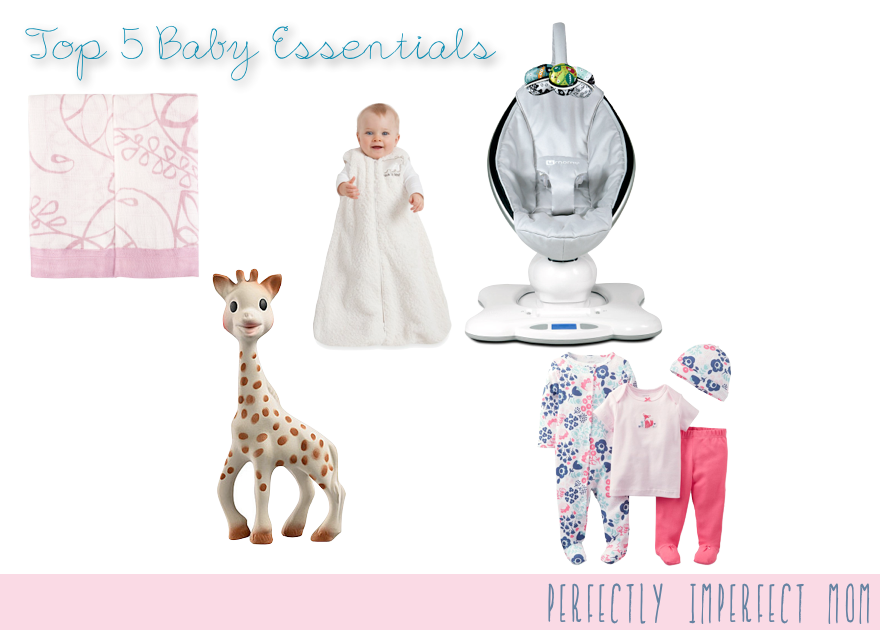 Top 5 Baby Essentials